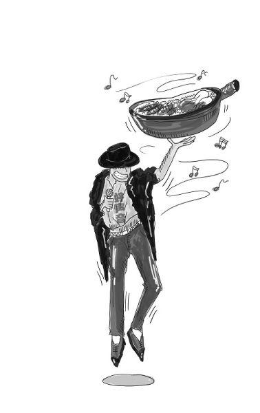 """武汉""""快乐男声""""卖煲仔饭"""