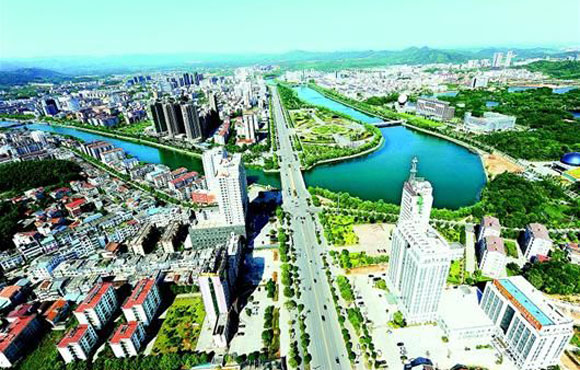 咸宁打造香城泉都 建设鄂南强市