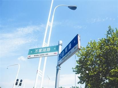 路牌指向南辕北辙