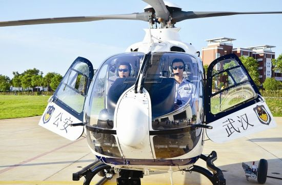 图为新型警用直升机