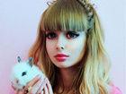俄罗斯嫩模真人演绎超逼真版芭比娃娃