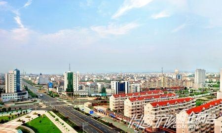 红安县城新貌