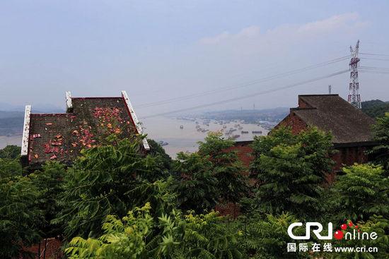 宜昌一别墅群烂尾多年成鬼屋。图片来源:CFP
