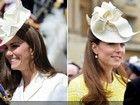 谁说皇室不节俭 看凯特王妃十顶帽子重复戴