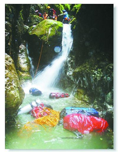 水流湍急的神农架棕峡 网友供图