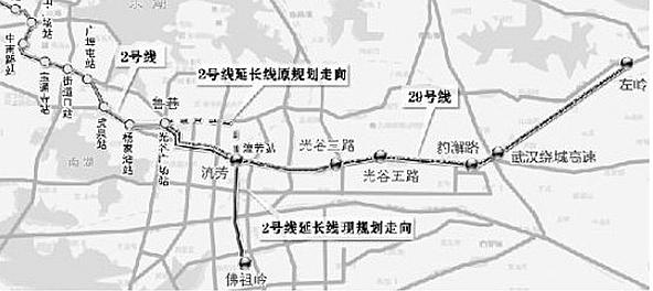 地铁29号线贯串光谷