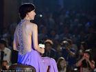 林志玲裹胸长裙大尺度秀裸背 演绎性感女神