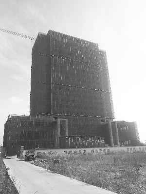 正在建设中的大楼