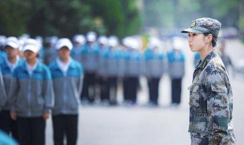 中国最美女教官走红