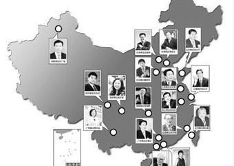 中国34省市区首富报告