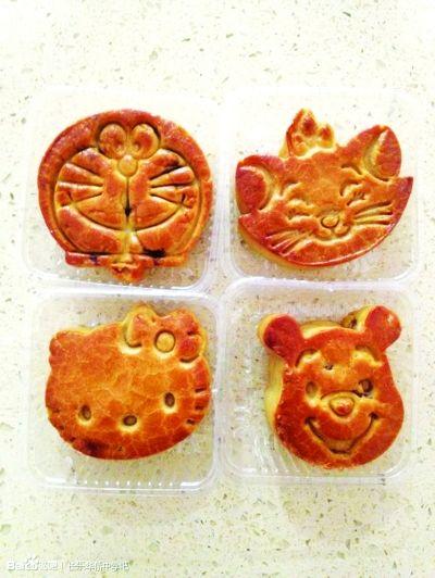 月饼卡通图片_中秋节月饼卡通图片