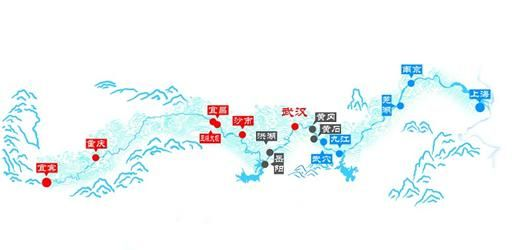 矢量湖北城市地图