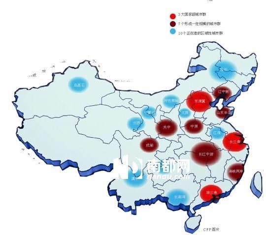 城市群会否成为强扭的瓜,谁将成为中国第四增长极?