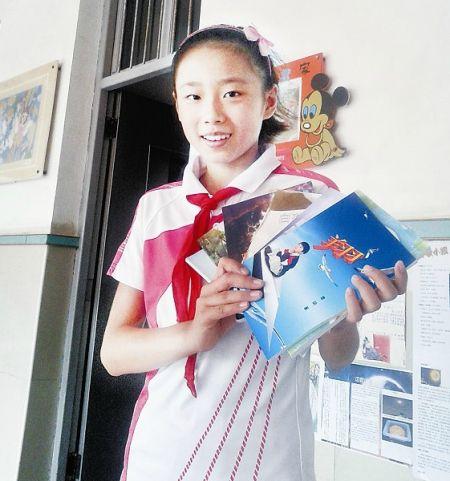 11岁武汉小学生 四年写30万字科幻童话