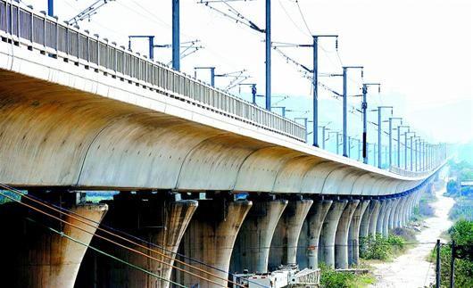 城铁下部结构工程全部完成