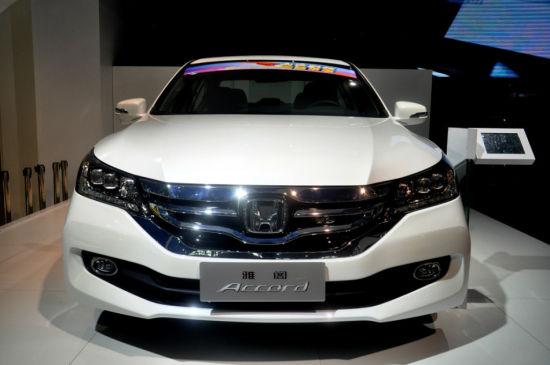 2013武汉国际车展实拍之雅阁