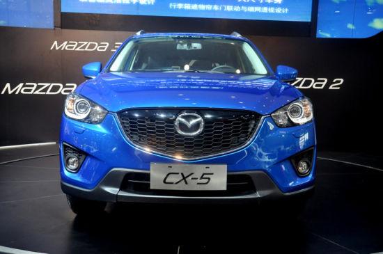 2013武汉国际车展实拍之长安马自达CX-5