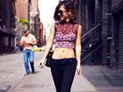 刘欢22岁靓女海外度假照 低胸装秀美艳长腿