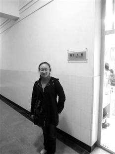 图为:唐安然(记者刘辉摄)