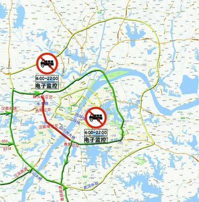 三环线汪家嘴施工实行交通管制
