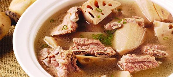 10大地道排骨藕汤
