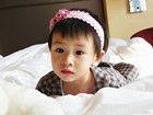 森碟Cindy可爱萌照全纪录 田亮有女初长成