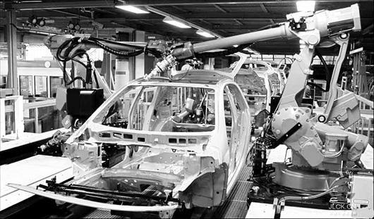 图为:工业机器人市场前景广阔(资料图片)