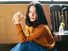 刘诗诗温暖午后写真 淡然闲适显优雅女人味