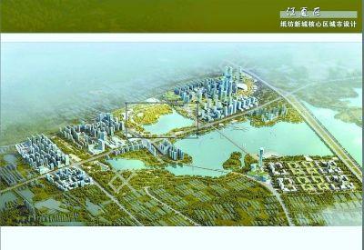 白框处临湖地块原准备地产开发,后规划建江夏纸坊新城中央大公园