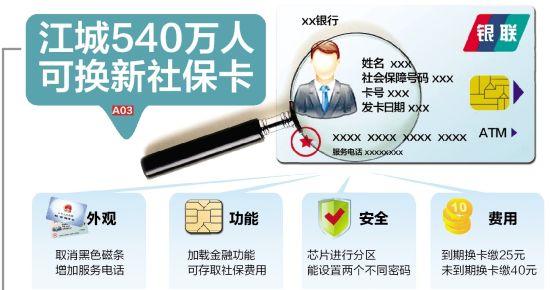 江城540万人可换新社保卡