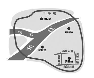 流芳火车站更名为光谷站