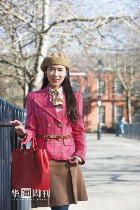 现在伦敦大学学院攻读纪录片和文化人类学专业硕士的李莹