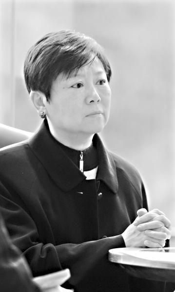 14日,李小林接受记者专访