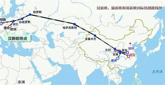 当丝绸之路遇上长江经济带,两大国家战略催生湖北新机遇。