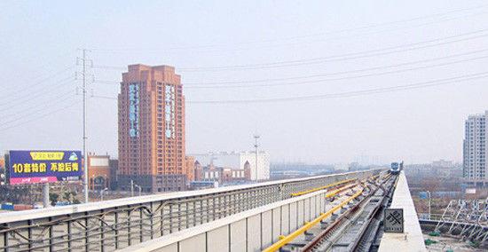 从汉口北站看周边的楼盘