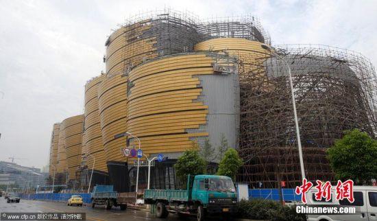 武汉现巨型黄金屋