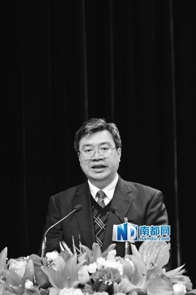 深圳市宝安区委书记鲁毅。 南都资料图