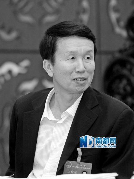 佛山市长刘悦伦。 南都资料图