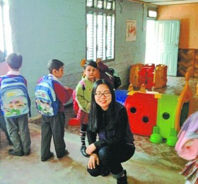 图为孙丽在尼泊尔。