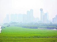 武汉今日难冲出霾包围 后天或人工增雨洗尘