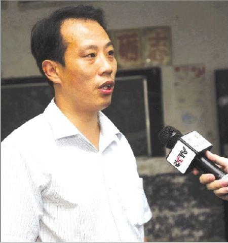 王林华接受央视采访
