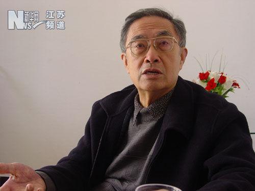 刘达临教授 图片来自新华网江苏频道