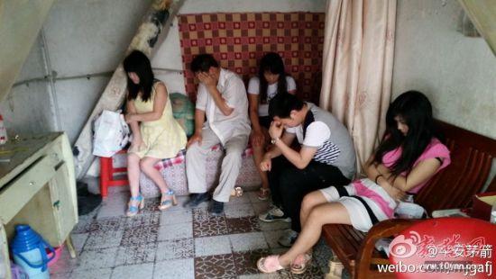 """人民所联合工商部门 """"扫黄"""" 拘留6人捣毁小发廊13家"""