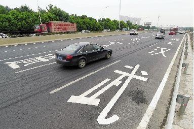 三环北武汉大道段今起通车