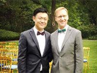 英驻上海总领事与华裔男友在驻华大使官邸办婚礼