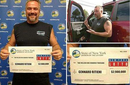 美国男子清理卡车发现旧彩票,喜中290万美元大奖。
