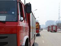 沧州批发市场大火持续10小时 尚未发现人员伤亡