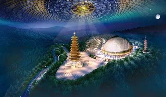 南京牛首山公园首亮相 地宫让游客惊艳(图)