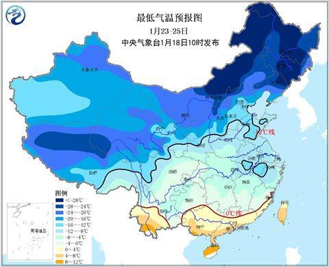 """""""世纪大寒潮""""本周来袭 全江苏都将降温降雪"""