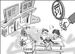 哈尔滨千家餐企查出400多个问题 涉无照经营等
